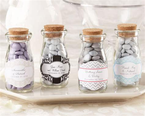 Vintage Wedding Giveaways - quot vintage quot personalized milk wedding favor jar favor bottles favor packaging