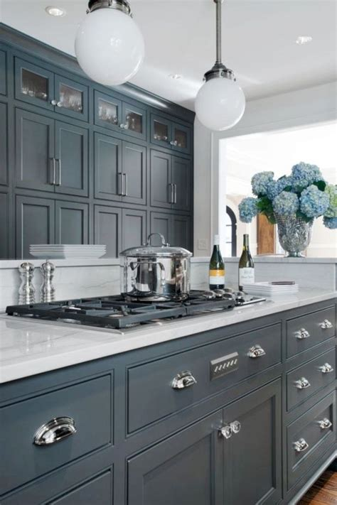 15 great kitchen cabinets that will inspire you best 25 grey kitchen wallpaper ideas on pinterest blue