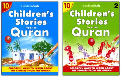 The Quran Stories Books pin quran surah list on
