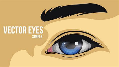 how to design an eye how to create a simple eye vector