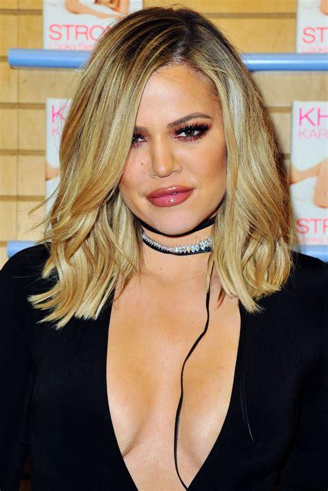 khole hair cuts khloe kardashian medium wavy cut khloe kardashian hair