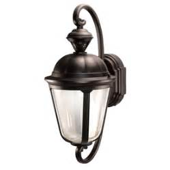 shop heath zenith secure home 19 in h rubbed bronze