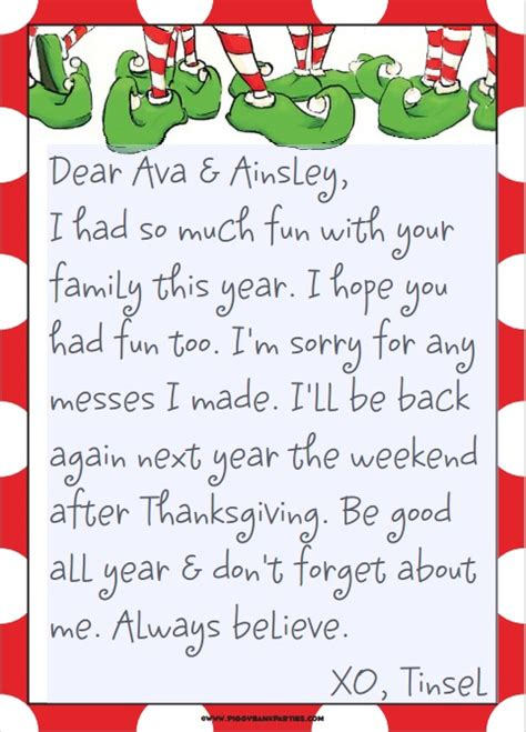 on the shelf goodbye letter template elfing realhousewifehouston