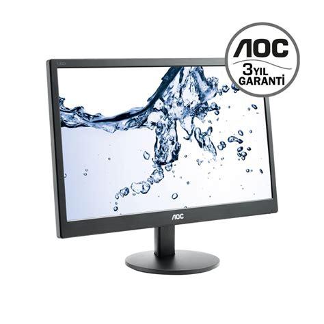 Monitor Aoc Led 18 5 E970swn aoc 18 5 quot e970swn 5 ms vga mon箘t 214 r vatan bilgisayar
