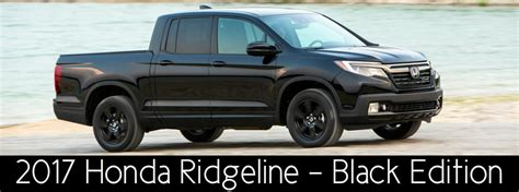 2017 honda ridgeline black edition what makes the 2017 honda ridgeline black edition model