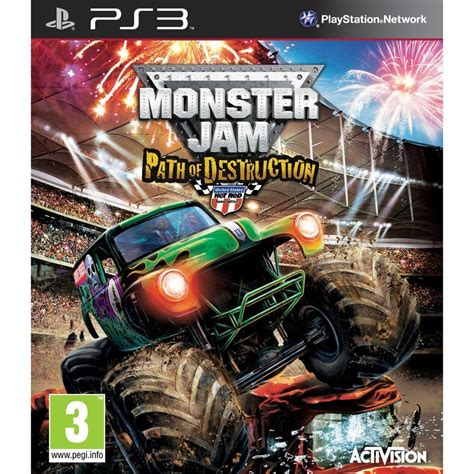 monster trucks video games monster jam path of destruction is a racing video game