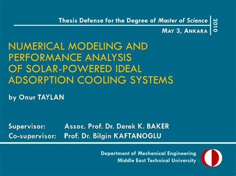 My Thesis Defense Presentation Powerpoint Templates For Thesis Defense
