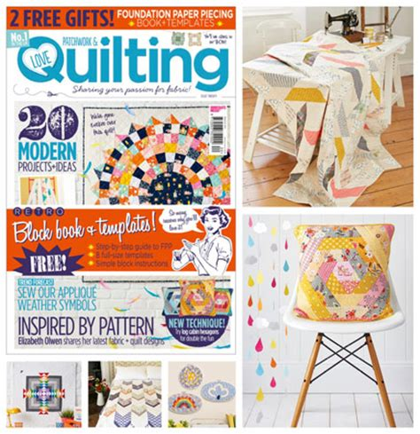 Quilting And Patchwork Magazine - new fabric from patchwork and quilting magazine