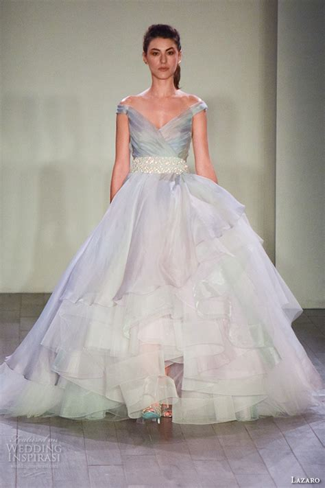 New Season Trends Of The Ballgown by New York Bridal Fashion Week October 2015 Part 3 Jlm