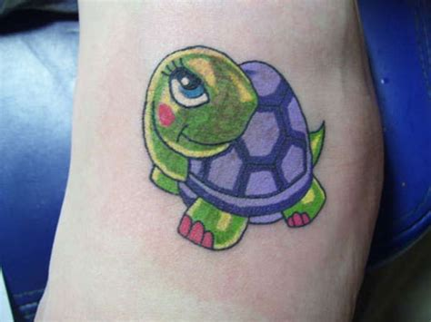 cartoon turtle tattoo designs 32 lively turtle tattoos creativefan