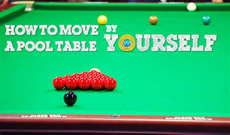 how to move a pool table across the room how to move a pool table by yourself complete by