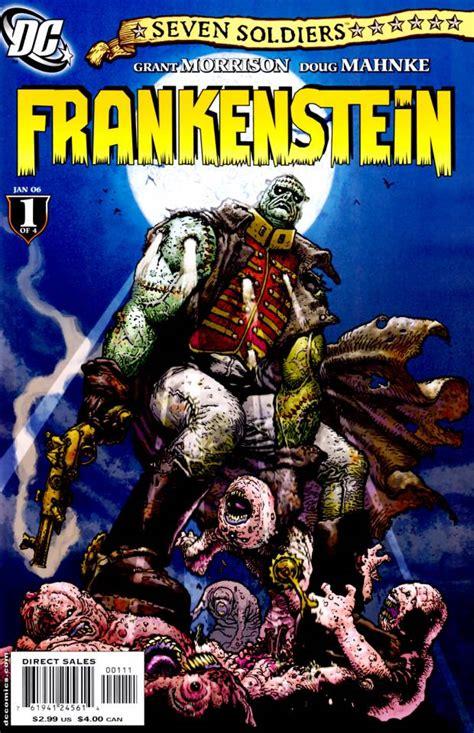 themes in frankenstein volume 1 seven soldiers frankenstein volume comic vine