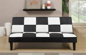 White Futon Black White Futon Paradise Furniture