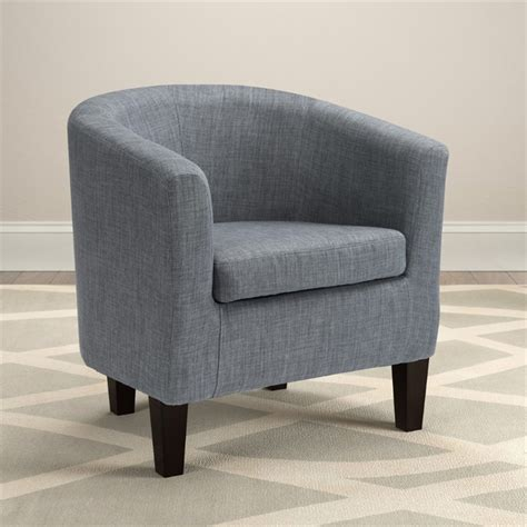blue barrel chair barrel chair in blue gray lad 778 c