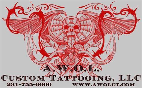 awol tattoo a w o l custom tattooing muskegonbiker