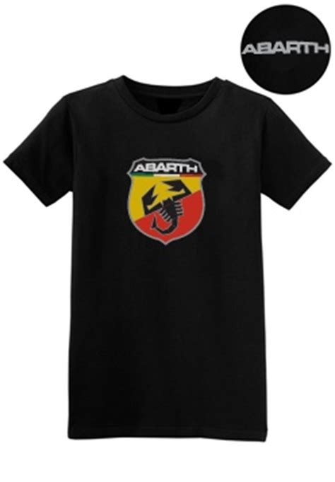 kearny mesa fiat black abarth sleeve t shirt w abarth scorpion logo