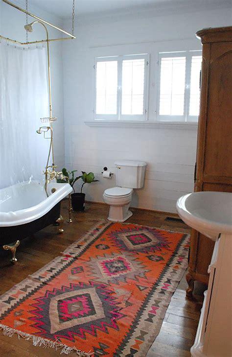 Kilim Bath Mat 17 Reasons Your Home Needs Kilim Rugs The Fox She