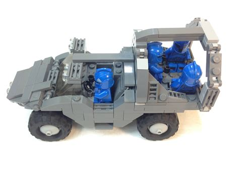 lego halo warthog lego moc series ep 5 halo warthog troop transport
