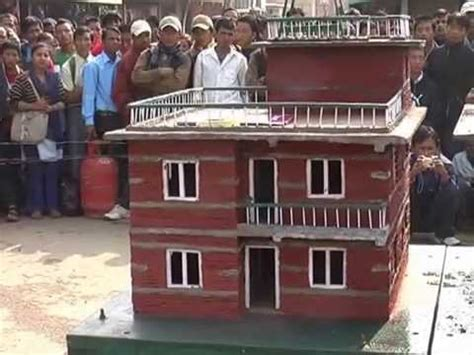 earthquake proof house plans how to build earthquake proof houses in nepal part one