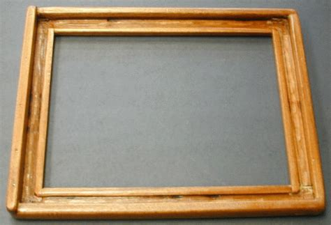 Paper Frame And Deckle - woodware mold and deckle