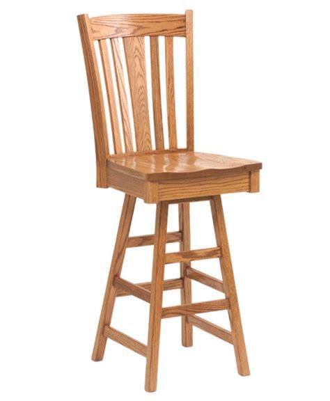 Amish Oak Bar Stools by Bar Stool Amish Direct Furniture
