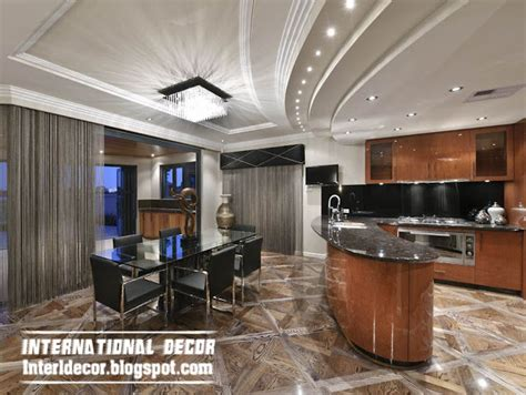 Modern Ceiling Design For Kitchen Top Catalog Of Kitchen Ceilings False Designs Part 2 Interior Home Decors