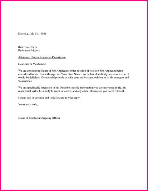 Reference Letter By Employer sle work reference letter for landlord cover letter templates