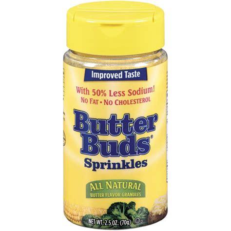 butter buds butter flavor sprinkles granules 2 5 oz