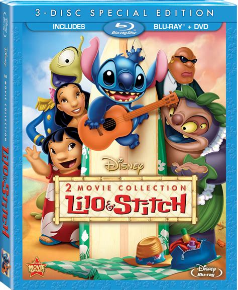 film disney usciti nel 2014 lilo and stitch 2 movie blu ray collection available on