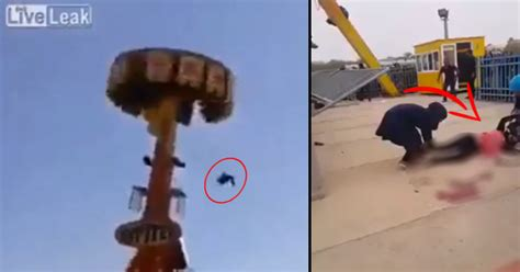 theme park deaths leaked footage of the amusement park accident that killed