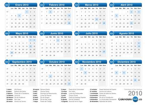 Calendario Noviembre 2010 Calendario 2010