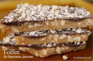 Toffee recipe joyofbaking com tested recipe