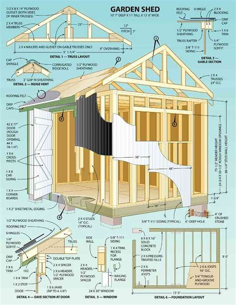 you build it plans best 25 shed plans ideas on pinterest storage shed