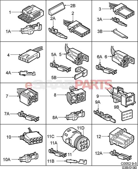Car Wiring Types by Delphi Harness Clip Wiring Diagram Delphi Wiring