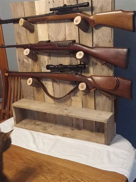 rustic gun rack gun display gun racks guns  offices