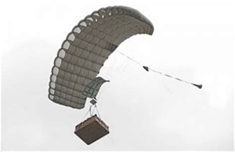 cassidian s ram air cargo parachute system is a uas official certification uas vision