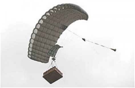 cassidians ram air cargo parachute system   uas
