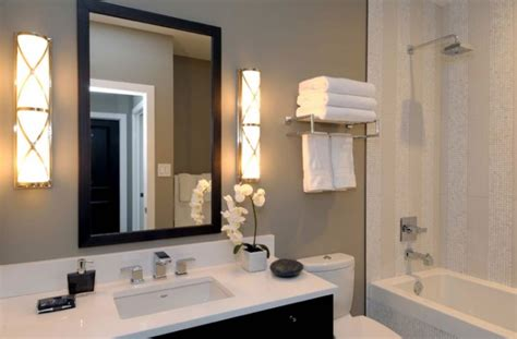 guest bathroom paint colors polished nickel bathroom sconces design decor photos