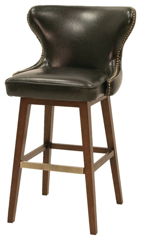 bar stools traditional julie swivel barstool traditional bar stools and