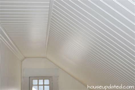 beadboard ceiling bedroom   Beadboard Ceiling Ideas