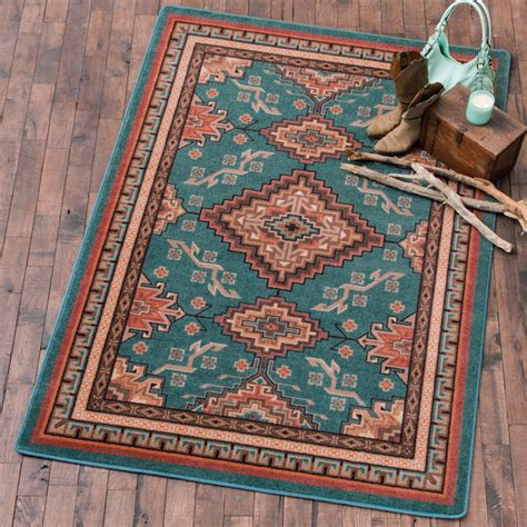 southwest rugs rhinestone river rug collection lone star