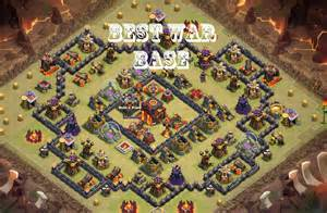 Clash of clans new town hall 10 war base with live replay 275 walls