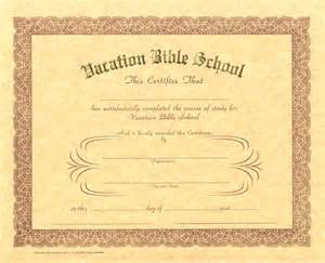 free vbs certificate templates 6 best images of printable vbs certificates vacation