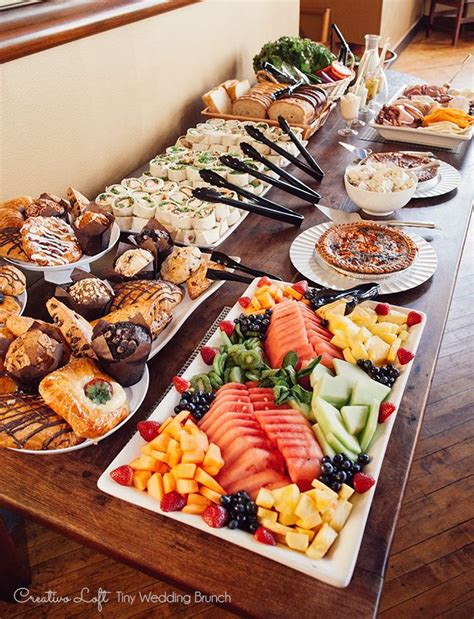brunch table 25 best ideas about brunch buffet on pinterest