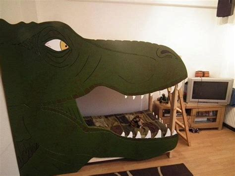 dinosaur beds trex bunk bed