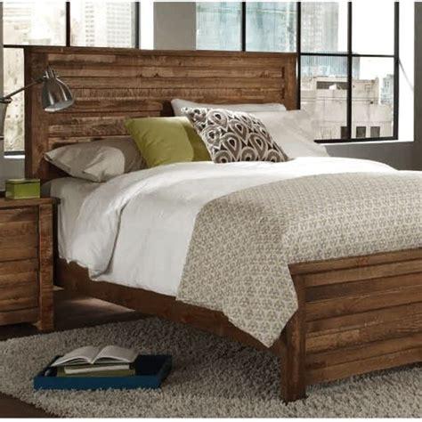 progressive melrose pine bed king natural brown pine
