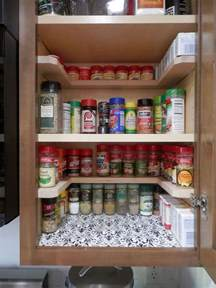 Kitchen Cabinet Shelf Organizer Diy Spicy Shelf Organizer Hometalk