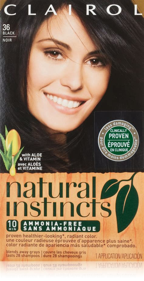 clairol instincts colors clairol instincts hair color creme 37
