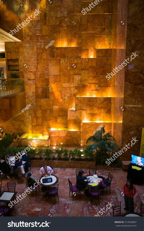 nyc gold inside trump tower web flickr photo sharing seating waterfall inside trump tower march stock photo
