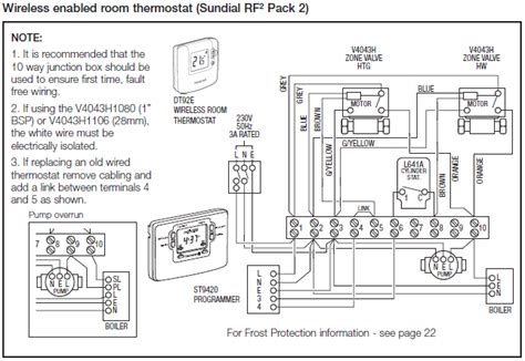 y plan wiring diagram for system boiler y plan wiring
